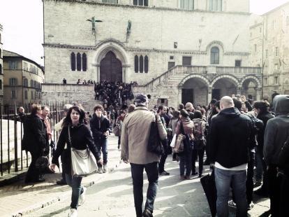 #ijf13 @harper Non c'è proprio nessuno. Foto di Pierluigi Grimaldi.