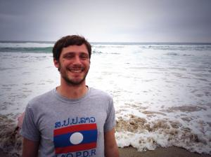Andrea Marinelli ha raggiunto l'Oceano Pacifico nel suo #coast2coast