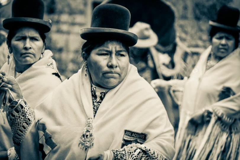 Cholitas - Foto di Huascar Fiorletta