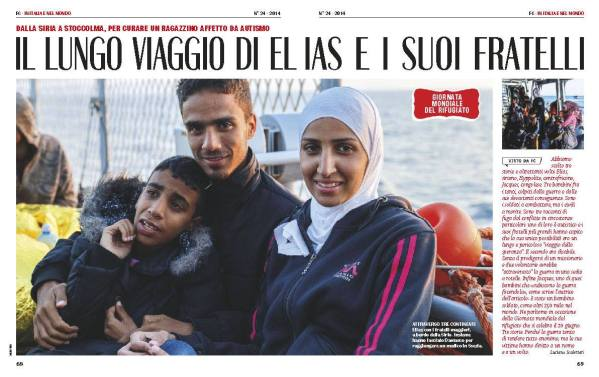 Mare Nostrum Romina Vinci per Famiglia Cristiana